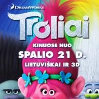 """V. Baumila ir J. Starinskaitė pirmą kartą įgarsino animacinį filmą """"Troliai"""""""