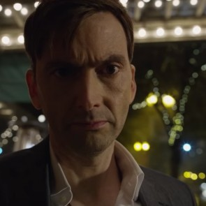 "Vos netapęs Hanibalu Lekteriu, aktorius D. Tennantas vaidina psichopatinį pagrobėją filme ""Blogasis samarietis"""