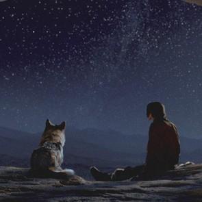 """Istoriniame nuotykių filme """"Alfa"""" žmogaus ir šuns draugystės pradžia pasakojama neegzistuojančia kalba"""