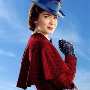 Aktorė Emily Blunt atrado Merės Popins magiją