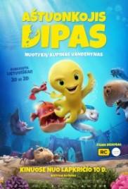 Aštuonkojis Dipas (dubliuotas), 3D